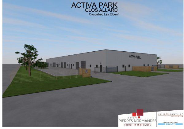 Activa Park, Une offre immobilière sur-mesure à Caudebec-les-Elbeuf (Agglomération Seine Eure)
