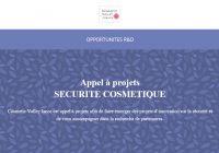 Cosmetic Valley lance un appel à projet Securité Cosmétique