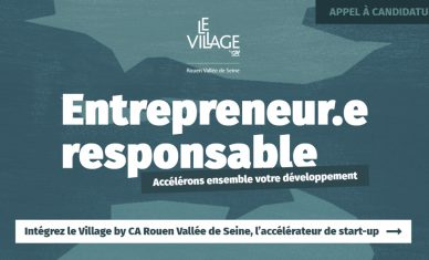 Village by CA Rouen Vallée de Seine : nouvel appel à candidatures axé RSE