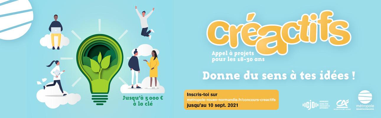 Concours Créactifs 2021 Rouen Métropole