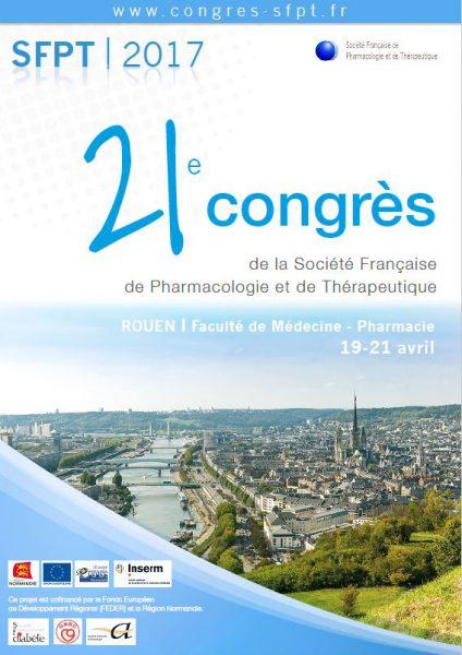 congrès rouen pharmacologie 2017
