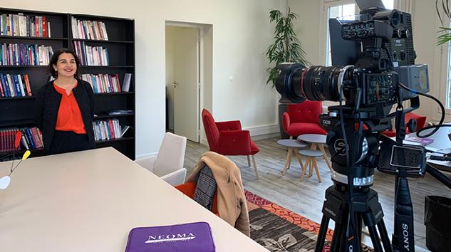 Interview de Delphine Manceau, Directrice Générale de NEOMA Business School