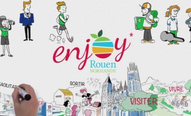 Enjoy Rouen Normandy, c'est quoi ?
