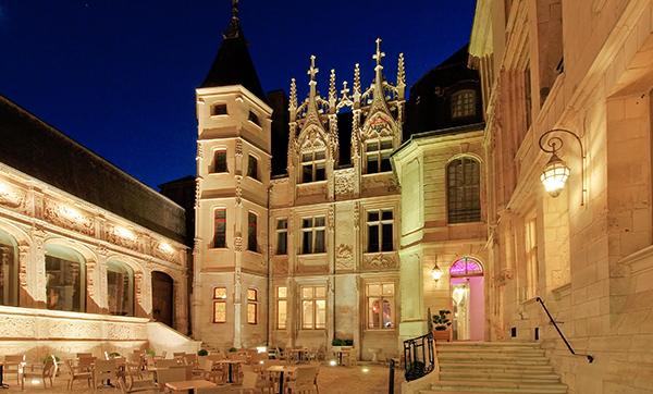L'hôtel de bourgtheroulde à Rouen