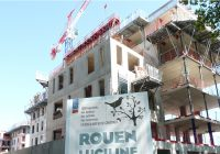 Quartier Rouen Luciline : Vista sort de terre et Vinci Construction s'y installe