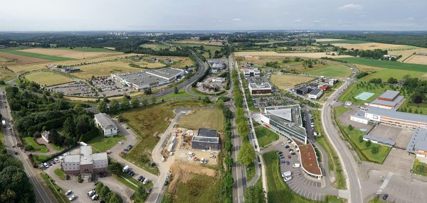 Develop your tertiary activities on the La Ronce Business Park