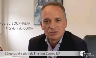 3ème labellisation de l'Institut Carnot ESP