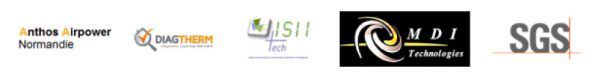 logos 5 entreprises Madrillet