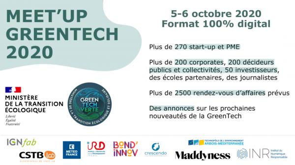 RNI présente au Meet'up Greentech 2020