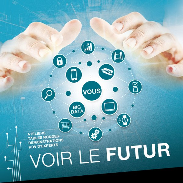 Theme Normandigital : Voir le futur