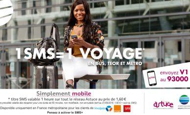 Première en France : Astuce lance l'achat de titre de transport par simple SMS