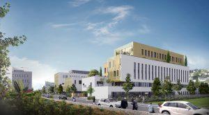 Rouen Innovation Santé : 2000 m² de bureaux, laboratoires dédiés à la santé