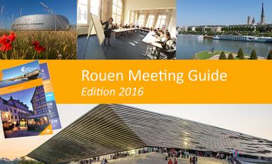 Le nouveau Rouen Meeting Guide est arrivé !
