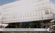 Inauguration du Medical Training Center à Rouen – Interview du Professeur Alain Cribier