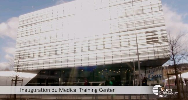 Inauguration du Medical Training Center à Rouen – Interview du Professeur Alain Cribier