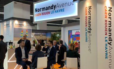 Rouen Normandy Invest au salon SIMI 2019, salon de l'immobilier d'entreprise