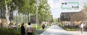 We HUB, programme immobilier à venir sur Rouen Madrillet Innovation