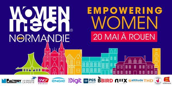 Women in Tech à Rouen le 20 mai 2019